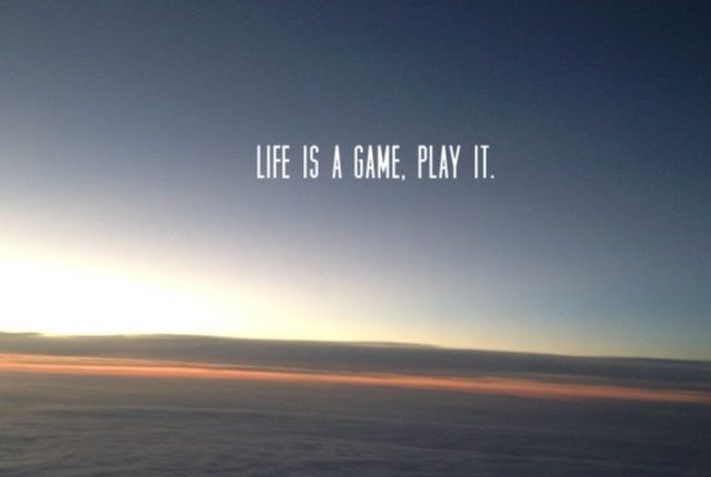 Life is a Play where goal is to grow in value.Those who know the laws of game becomes perfect player or leader.Leaders are enlightened beings.