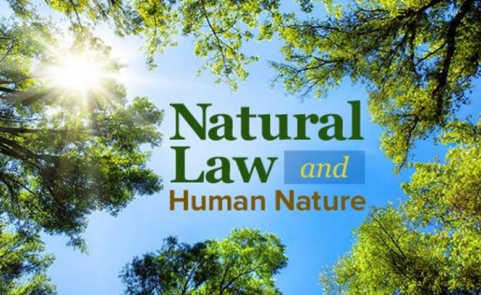 Natural law, cause and effect principles