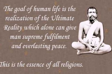 Self-realisation or God awakening is the end of all sufferings