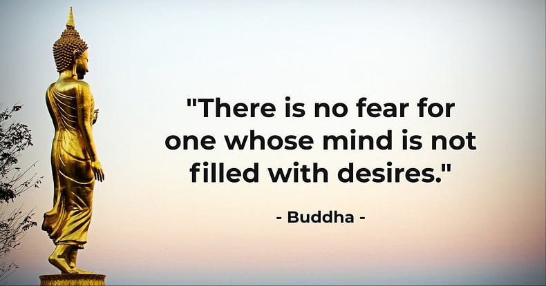 Self-realisation leads to completeness which ends  all desires and brings fearlessness .